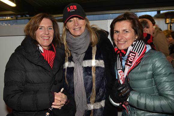 43. Le docteur Jacqueline Ginon, Fabienne Streichenberger Bismuth et Sophie Bacon-Deguilhem
