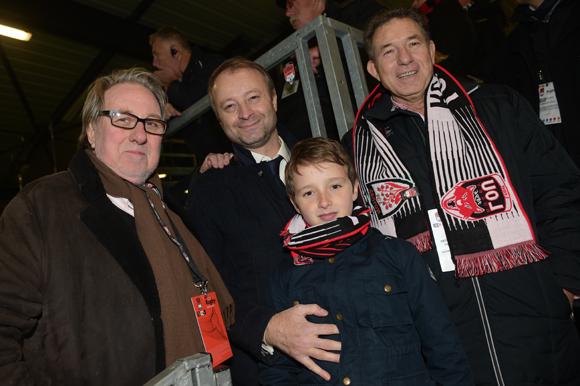 45. Jean-Marie Nauleau, Marco (Lyon People), Louis Engelhard et Jean-Claude Pietrocola (Média Sport Promotion)