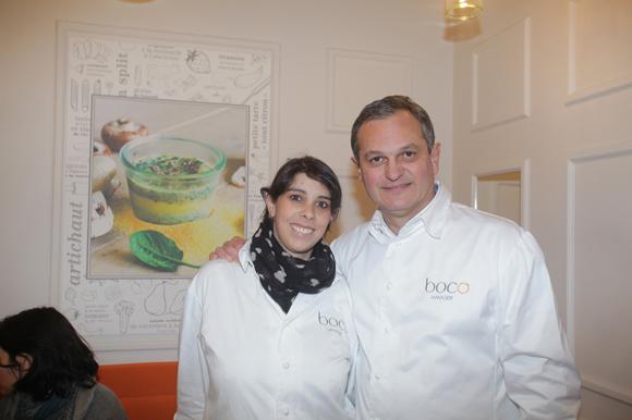 6. Caroline Henry et Yves Hunckler, managers Boco