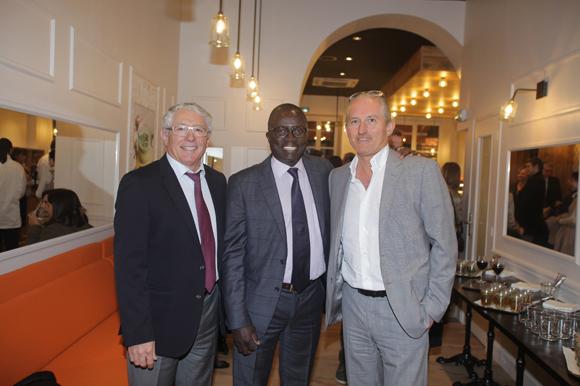 7. Élie Cunat (BMW Gauduel), Laye Diop (Marriott Hôtel) et Pascal Auclair (France Médias)