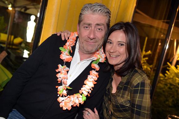 7. Dom Rodriguez (Carrosserie Rodriguez) et Clotilde Martin (Guy Hoquet)