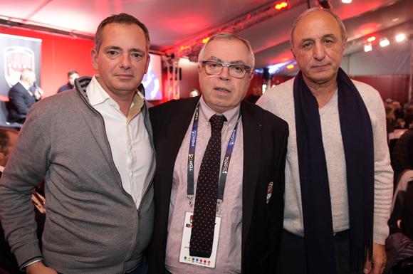 9. Benoit Petiau (D2P), Patrick Celma (LOU) et Alain Ceccon (D2P)