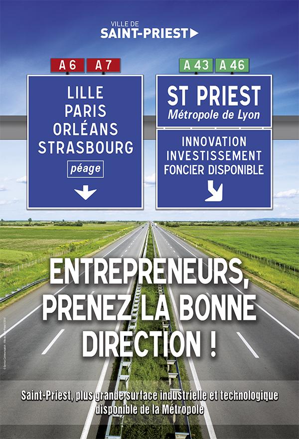 Saint-Priest affiche ses atouts pour séduire les investisseurs