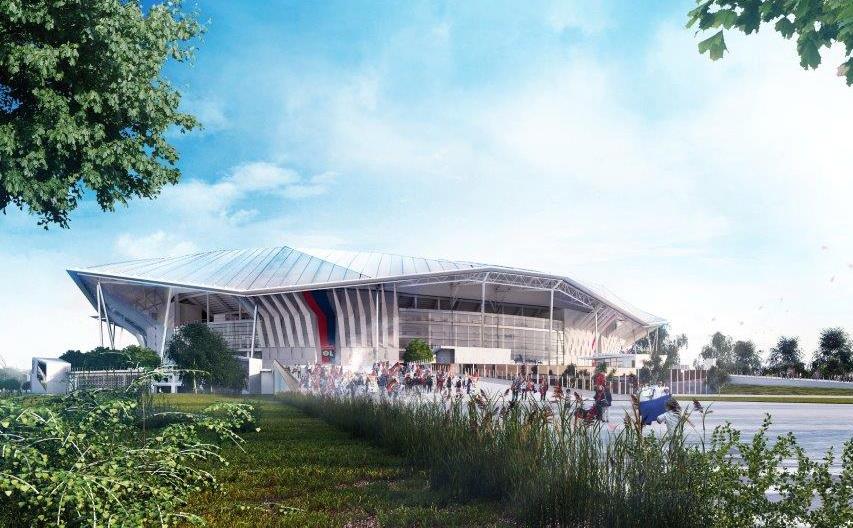 Le Parc OL sera doté d'un hôtel en 2018