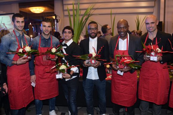 Trophée Franck Hernandez. Ses élèves VIP lui font une fleur