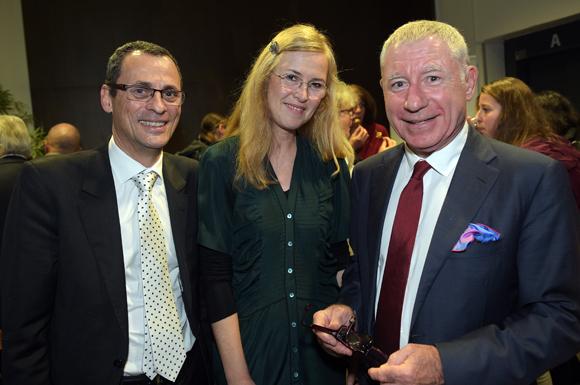10. Jean-Pierre Roy (IDRAC), Anne Terret (Supdemod) et Denis de Bénazé, président de Supdemod