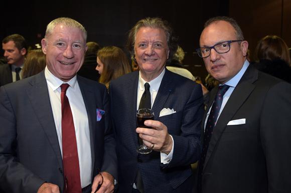 11. Denis de Bénazé, président de Supdemod, Gérard Ravouna, président des Industries Mode et Habillement Rhône-Alpes et Ali Hannas (IDRAC)