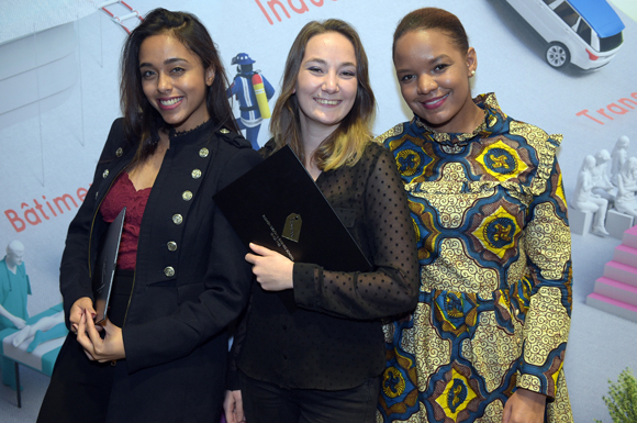 29. Althea Paramita, Zélie Collet et Isabelle Itoua (Supdemod)