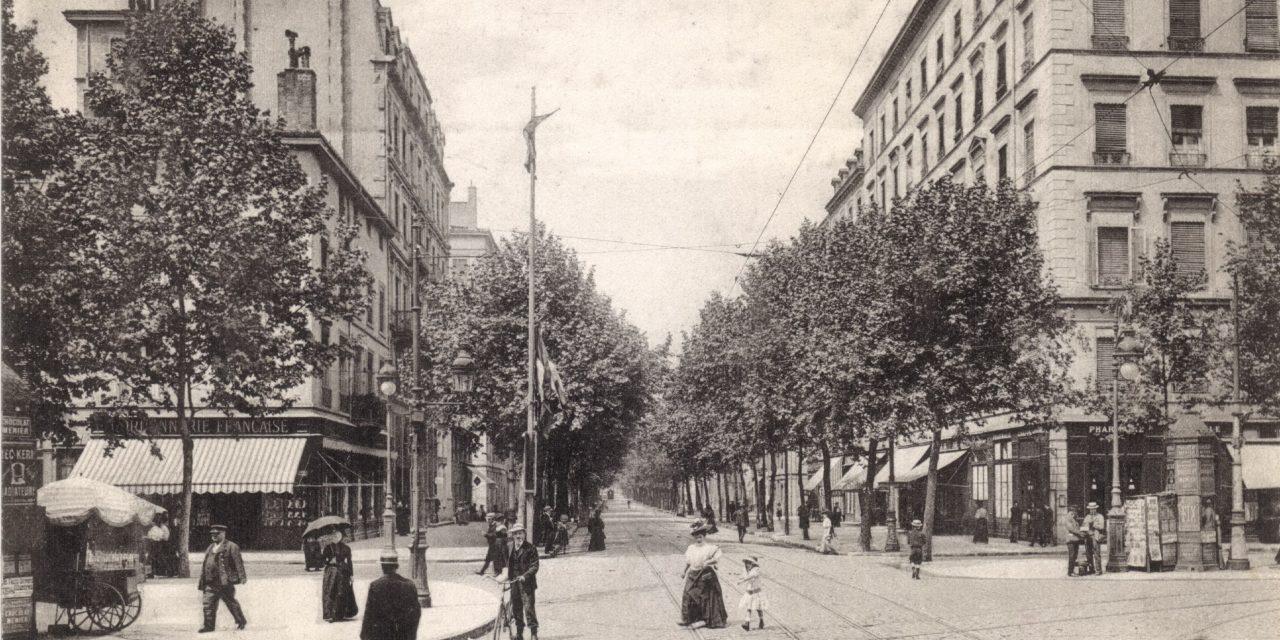 Lyon People patrimoine. L'avenue Foch de 1850 à nos jours