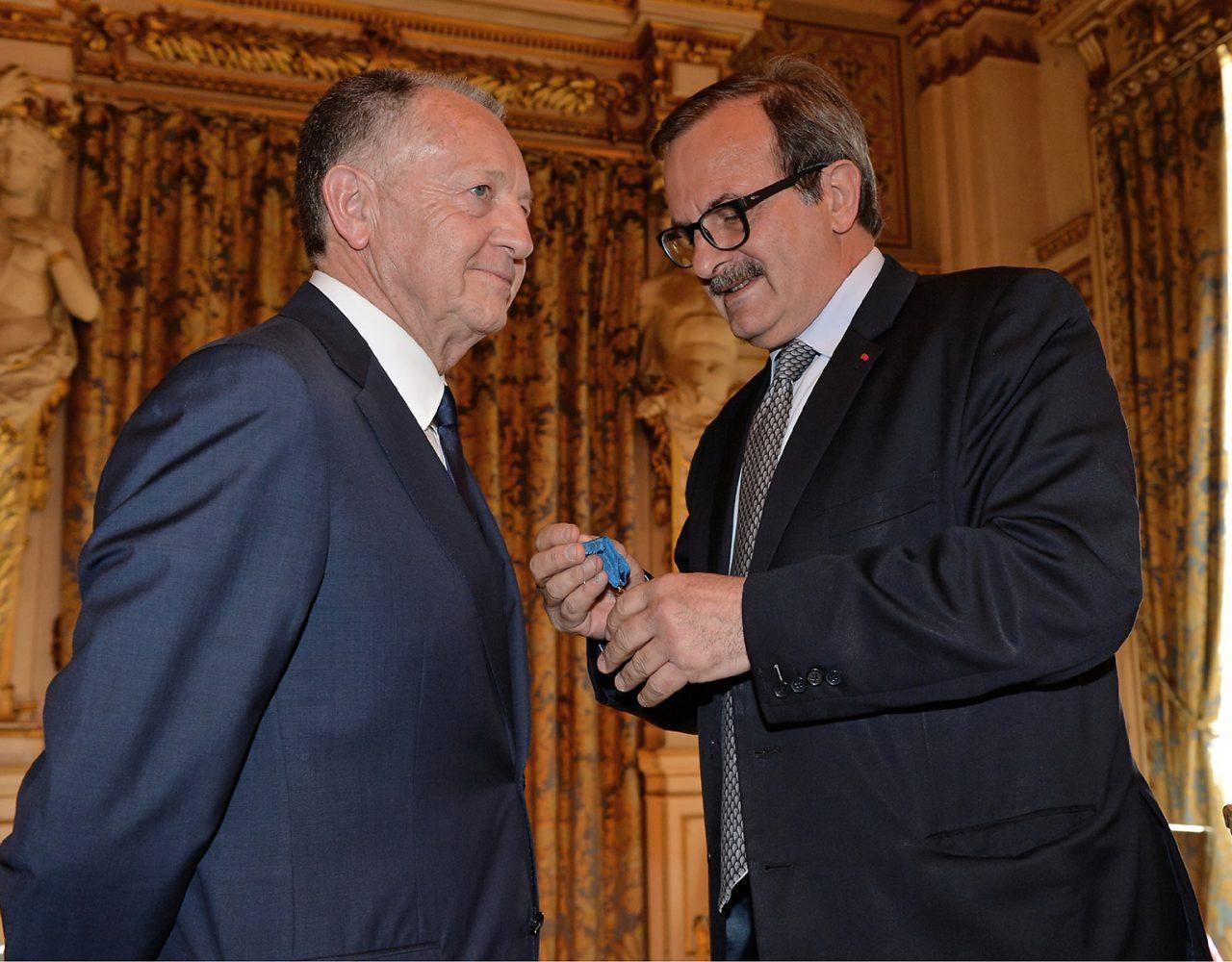 Jean-Michel Aulas, promu officier de la Légion d'Honneur
