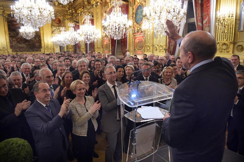 Les vœux 2017 de Gérard Collomb et des VIP lyonnais