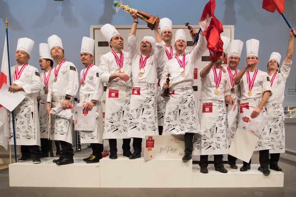 Pâtisserie. Les Français champions du Monde 2017