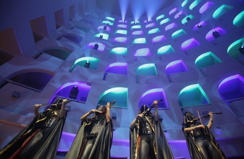 Inauguration du Radisson Blu. Une soirée dans les étoiles