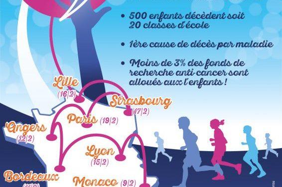 « STOP aux cancers des enfants ! ». Journée de lutte ce 15 février