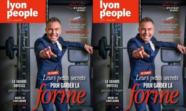 Marco Chopin en couverture de Lyon People, spécial forme