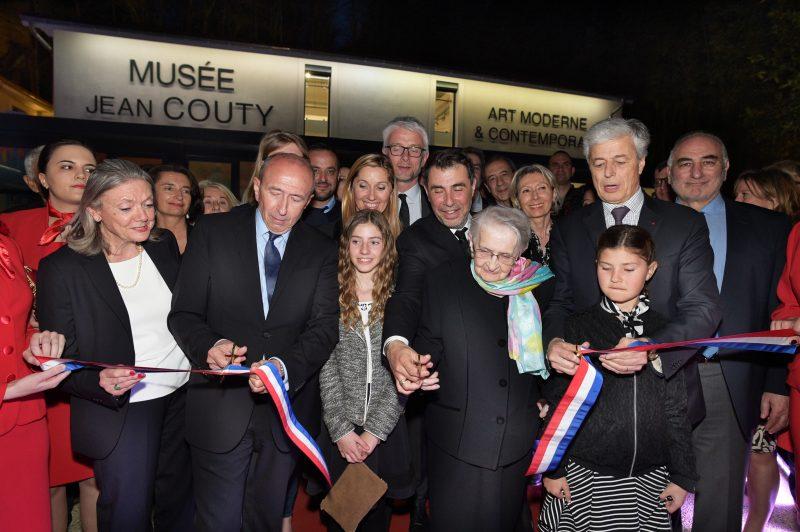 Musée Jean Couty. L'inauguration réunit la fine fleur de la peinture lyonnaise