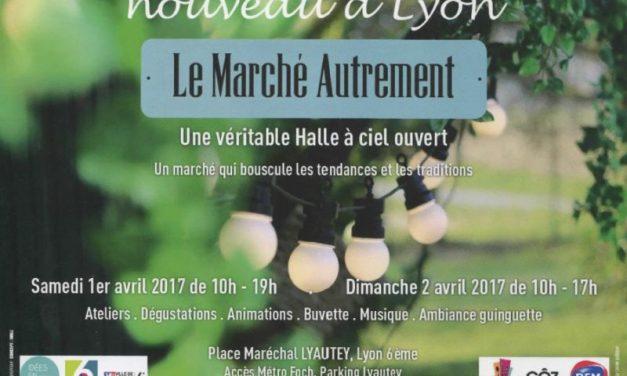 Le Marché Autrement. Week-end gourmand, place Lyautey