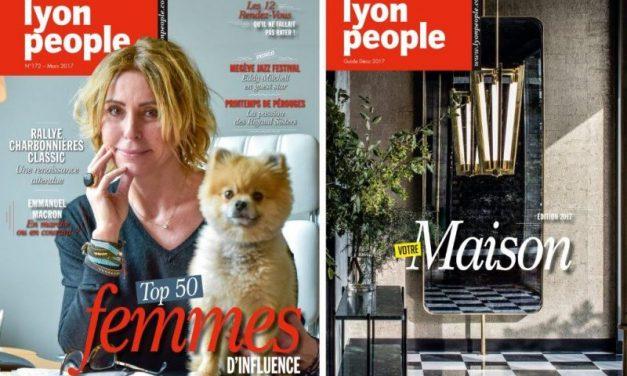 Magazine Lyon People, mars 2017. Les amazones à l'honneur