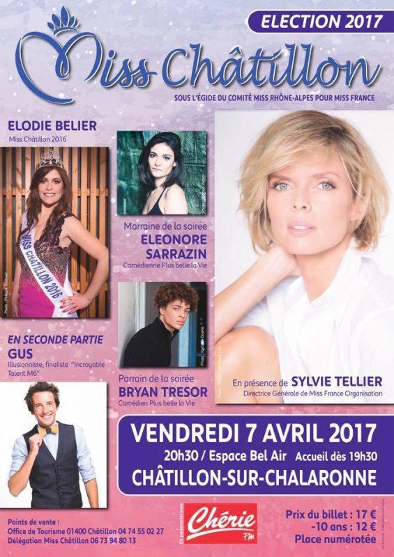 Election 2017. Miss Châtillon prochaine Miss Monde ?
