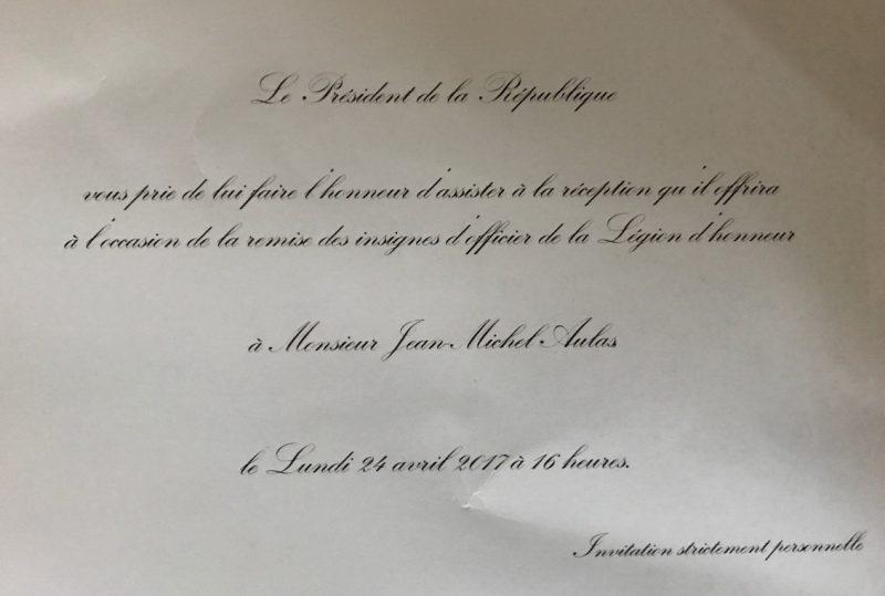 Légion d'Honneur à l'Elysée. Jean-Michel Aulas invite le tout Lyon à l'insu de son plein gré