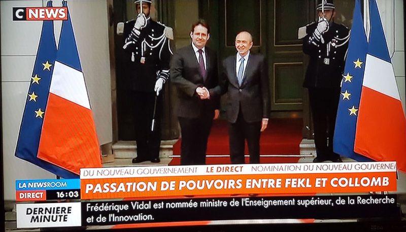 Présidence Macron. Gérard Collomb premier flic de France