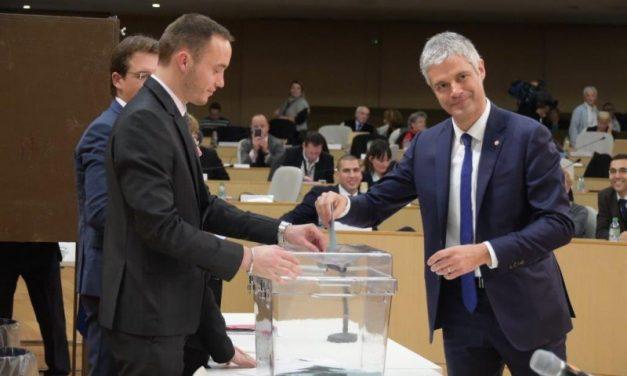 Législatives 2017. Laurent Wauquiez choisit la Région