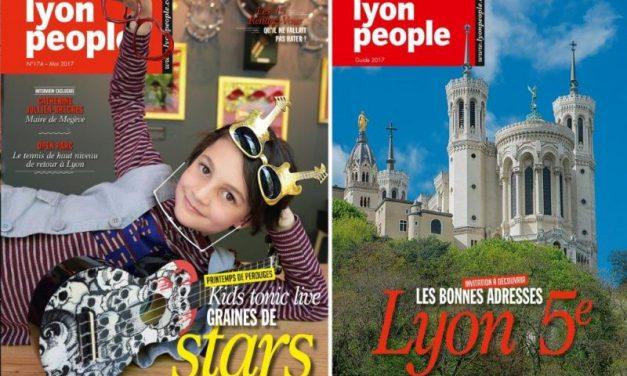 Magazine Lyon People, mai 2017. Graines de star à la une