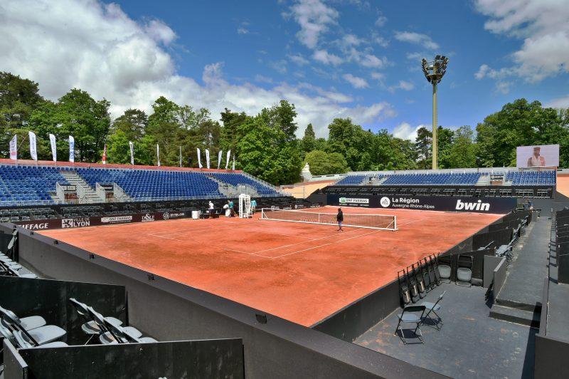 Open Parc 2017. Le montage du court central de A à Z