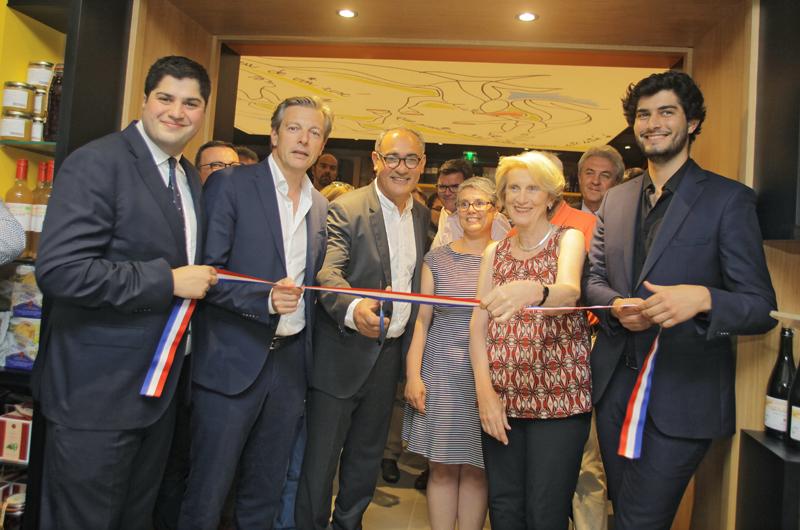 Vignes & Vins. Inauguration très French art de vivre