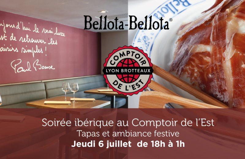 Comptoir de l'Est. Soirée ibérique avec Bellota-Bellota