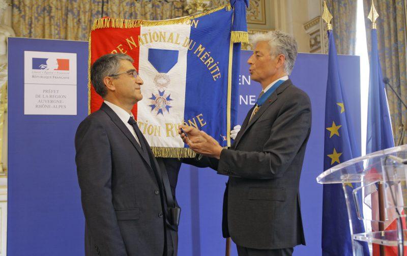 Christian Missirian. Chevalier de l'Ordre national du Mérite