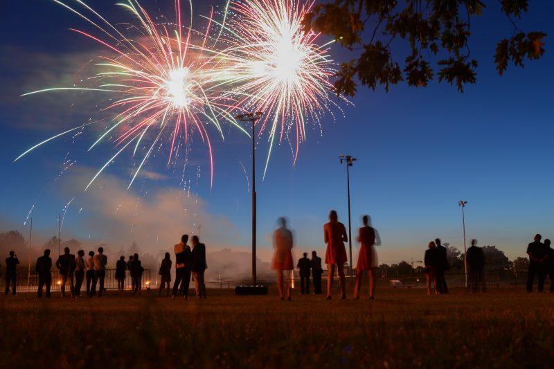 DCB International. Inauguration de Fireworks