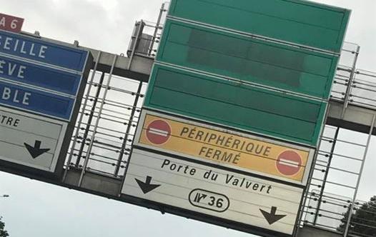 Embouteillages à Lyon et fermeture du périphérique Nord. David Kimelfeld en récidive