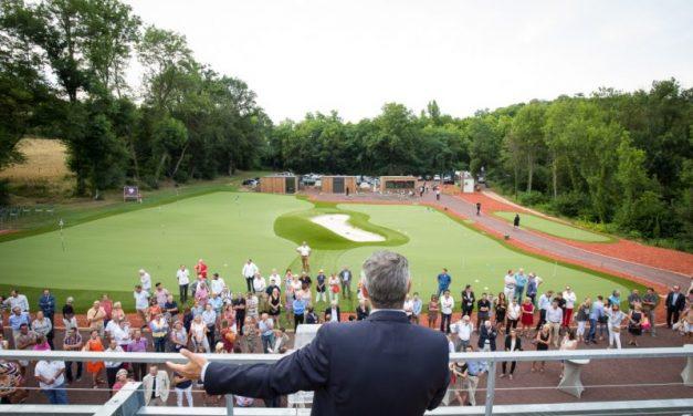 Golf deTassin. Philippe Venditelli prend les clubs en main