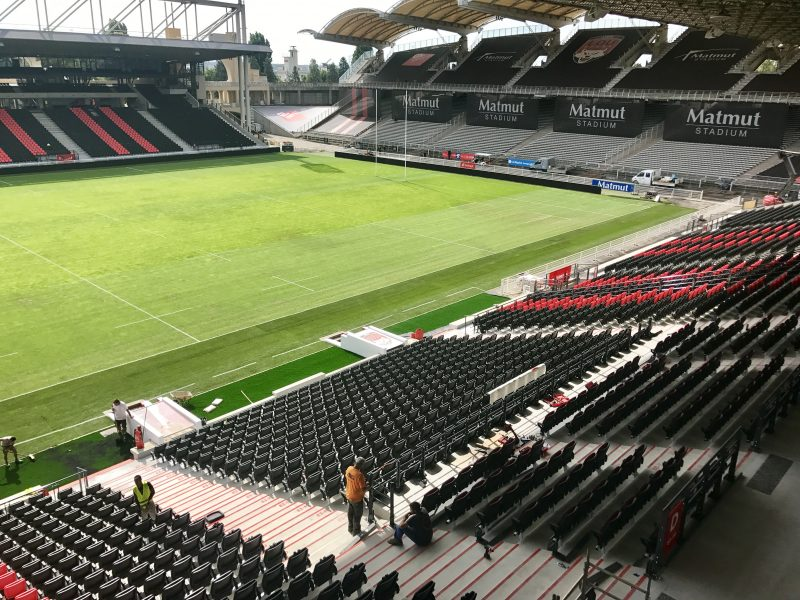 LOU Rugby. Le stade de Gerland exhibe ses nouvelles courbes
