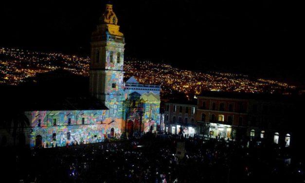 Lyon signe la lumière du plus grand évènement équatorien