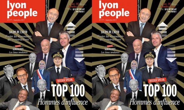 Lyon People septembre 2017. Le Top 100 des hommes d'influence