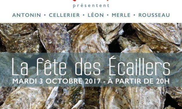 Fête des écaillers 2017. Plein Gas sur les huitres aux halles de Lyon