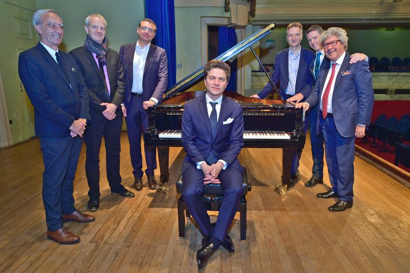 Piano à Lyon. Lancement de la saison 2017 avec Selim Mazari