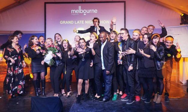 L'agence Melbourne fête ses 25 ans sur un air de CharlÉlie !