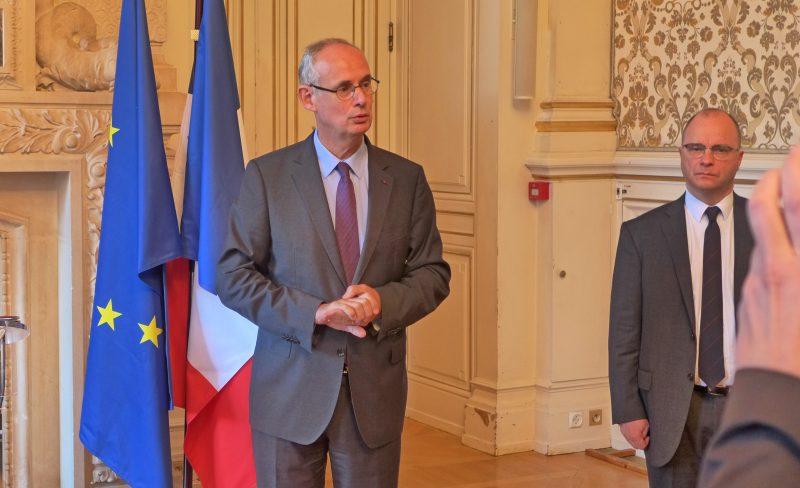 Stéphane Bouillon. Le nouveau préfet a déjà les mains dans le cambouis