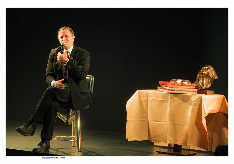 Inauguration de l'Acacia. Francis Huster en guest-star