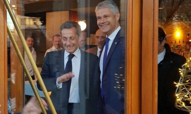 Nicolas Sarkozy à la rencontre des ténors de la droite lyonnaise