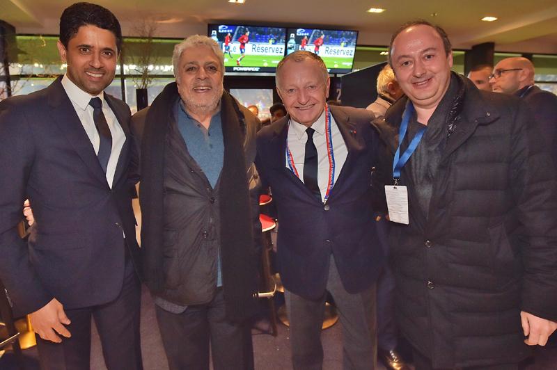 Les tribunes VIP d'OL 2 – PSG 1. L'OL cuisine l'ogre parisien