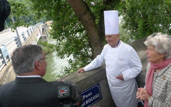 Le Pont de Collonges rebaptisé Pont Paul Bocuse le 16 mai 2011