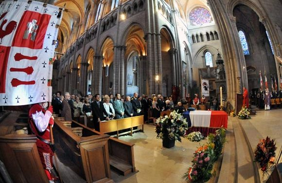 Enterrement de Paul Bocuse. La cathédrale Saint Jean comme une évidence