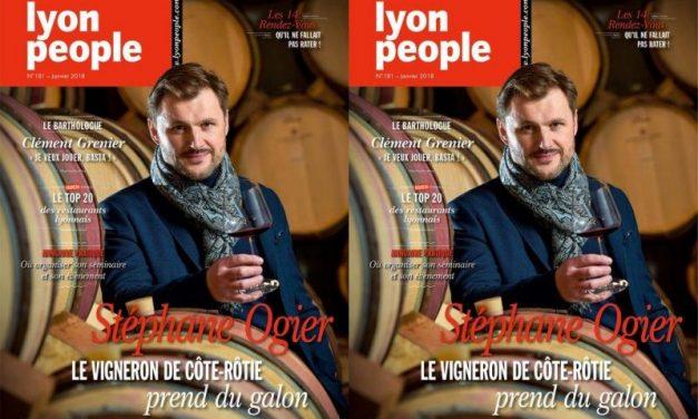 Stéphane Ogier en couverture de Lyon People