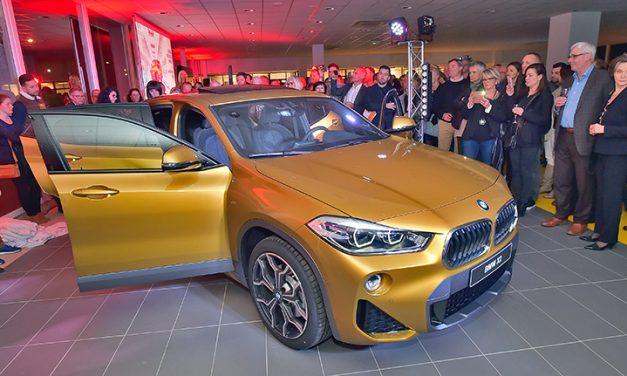 BMW Altitude 69. Le X2 se dévoile avec Marie Martinod et Franck Solforosi