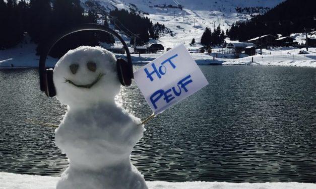 Festival Hôt Peuf. Skier en musique à Courchevel
