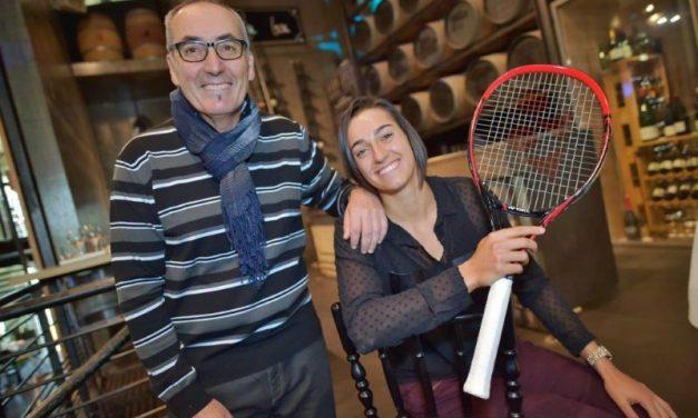 Caroline Garcia. N°1 du tennis français et des Lyonnaises influentes